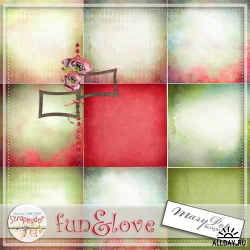 Scrap kit   Fun  Love