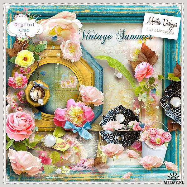 Scrap set - Vintage Summer