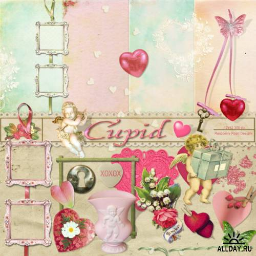 Scrap kit  Cupid