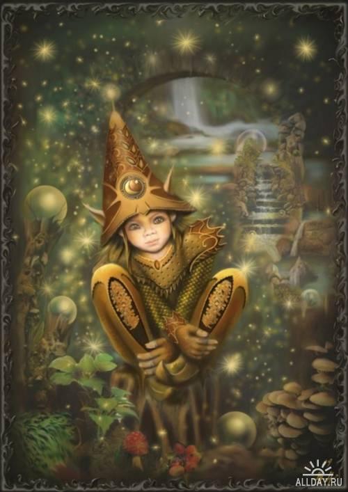 Волшебный мир от Мартины Аренд (Martina Arend)