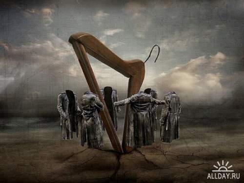 Фотоманипуляции Саролты Бан (Sarolta Ban)