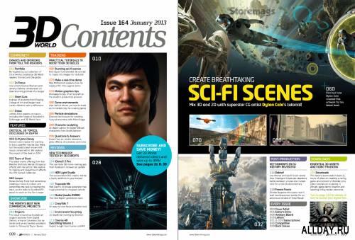 3D World - January 2013 (UK)