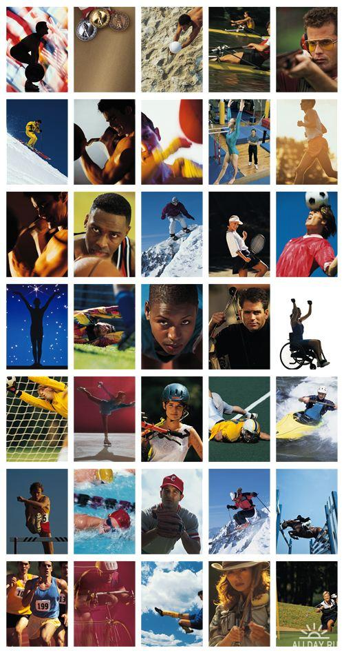Stock Photo: Comstock.Athletes.Personal.Best