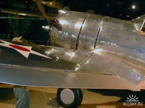 Фотообзор - американский истребитель Curtiss P-36A Hawk