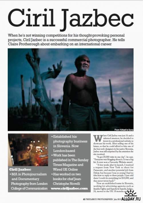 f2 Freelance Photographer Vol.6 No.5, 2012