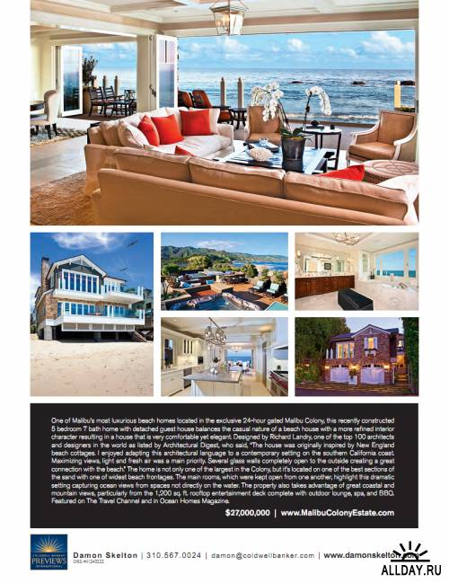 Distinctive Homes - Vol.235 (Malibu)