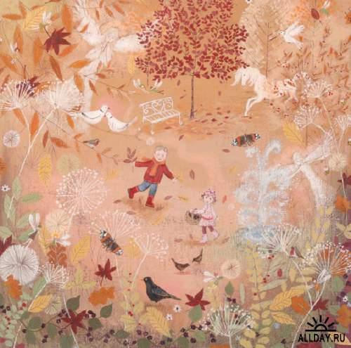 Маленькие радости сельской жизни художницы Lucy Grossmith