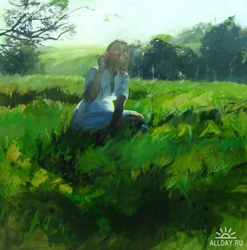 Испанская художница  Susana Ragel