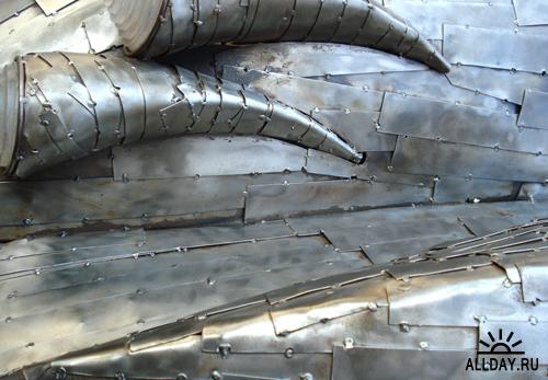 Art Car Metal Textures