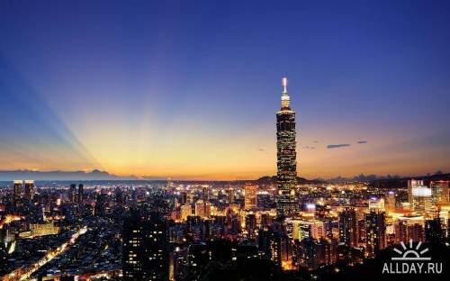 Фото архитектуры крупных городов мира на фон рабочего стола 48