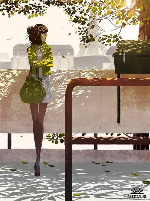 Иллюстратор Matthieu Forichon