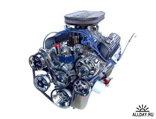 Хромированный двигатель | Chrome engine