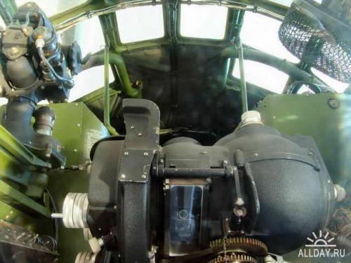 Американский стратегический бомбардировщик B-29A Superfortress