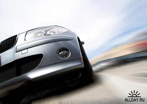 Stock Photo - Car in motion | Автомобиль на ходу
