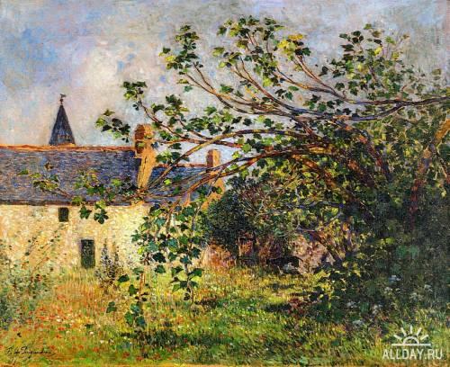 Фердинанд дю Пюигадо (Ferdinand du Puigaudeau) французский художник постимпрессионист