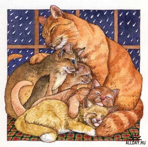 Детские иллюстрации от Wendy Edelson
