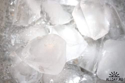 Milk, water and ice | Молоко, вода и лед