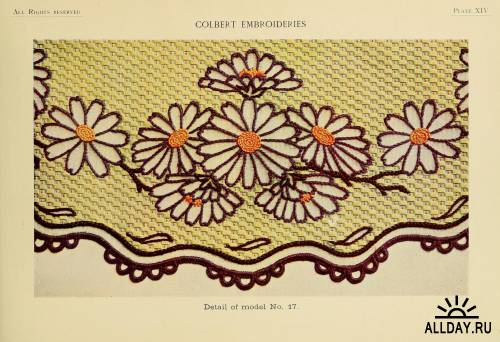 DMC Library Colbert embroideries