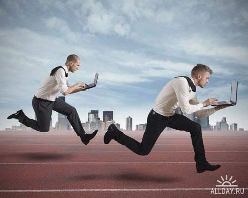 Бегущие люди. Вып.5   Running people. Set.5