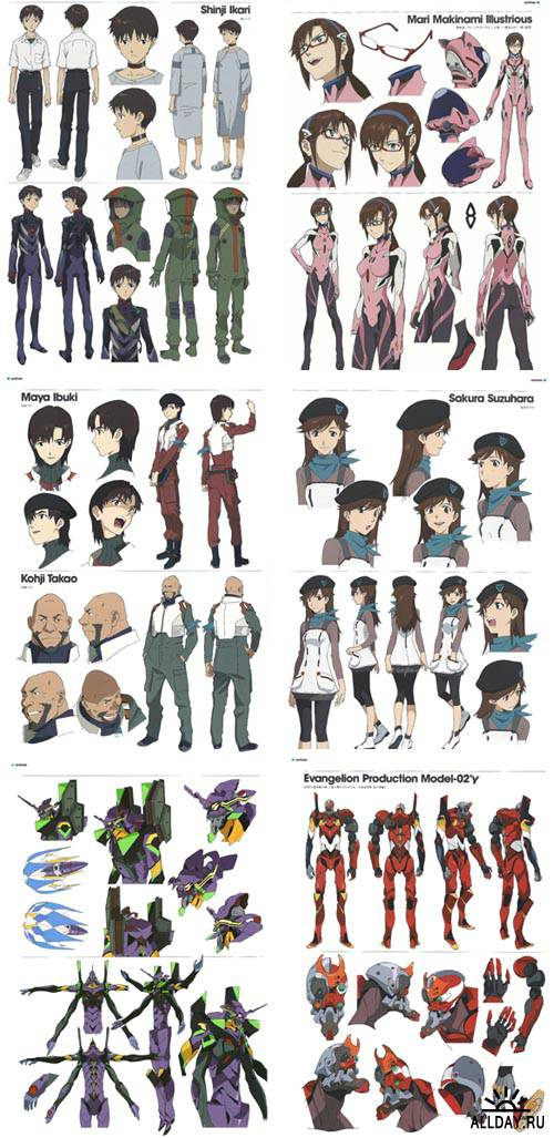 Evangelion 3.0 You Can (Not) Redo [2012] [Artbook]