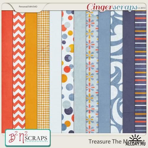 Scrap set - Treasure the moment