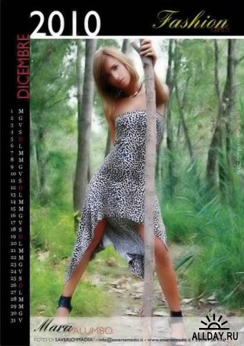 Fashion Girls - Official Calendar 2010