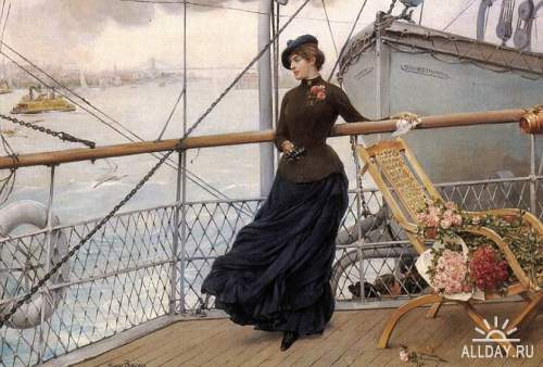 Американский художник Henry Bacon (1839-1912)