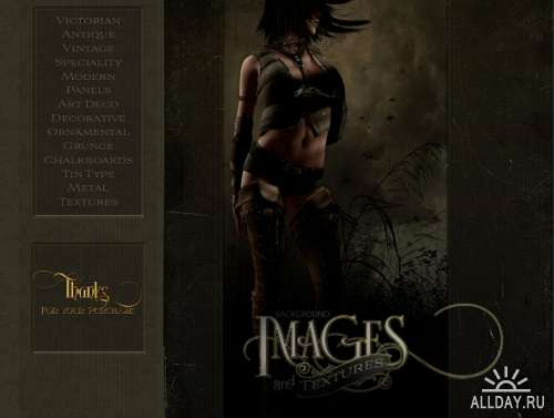 DAZ3D: Ron's Background Images and Textures