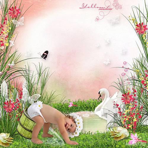 Scrap - Pink Garden