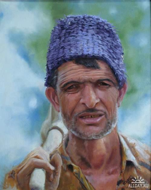 Artist Jesser Valzacchi