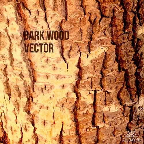 Векторные деревянные фоны 3