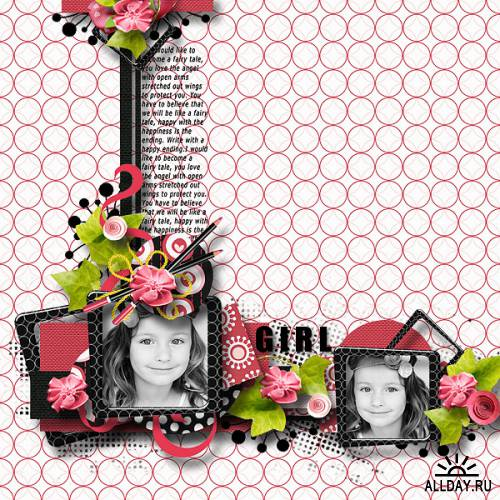Scrap kit  Girls