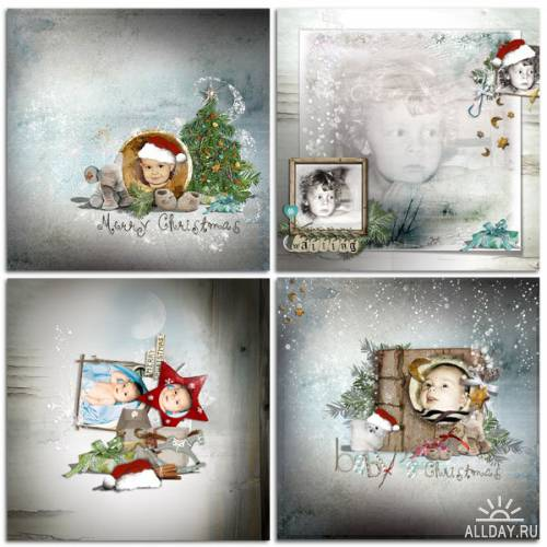 Scrap kit   A Baby For Christmas