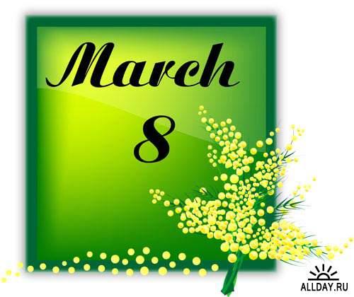 Коллекция к 8 Марта   8 March collection