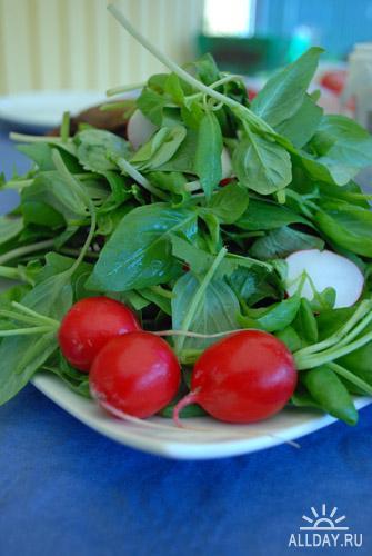 Фотоклипарт- Еда. Овощи
