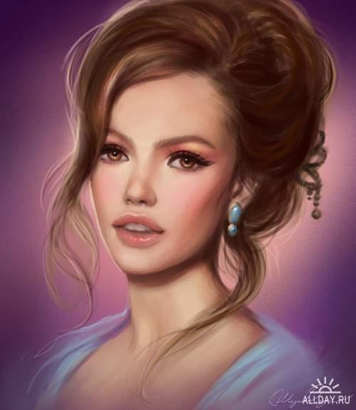 Работы художника - Selene (Selenada)
