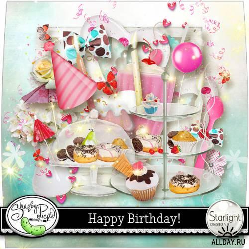 Scrap kit  Happy Birthday