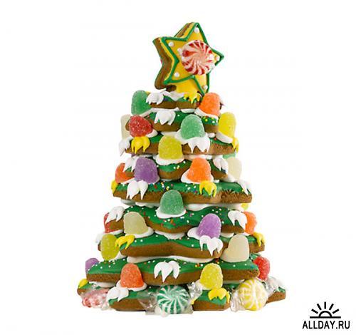 Новогодне-рождественский клипарт в PNG - Merry Christmas