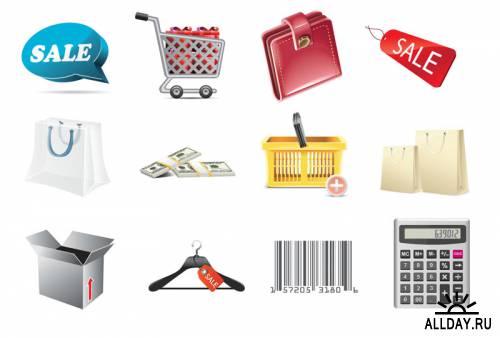 Иконки - Шоппинг / Shopping Icons