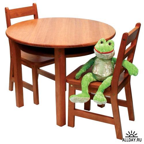 Фотоклипарт - Мебель. Обеденные столы