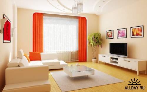 Новые интересные работы дизайнеров в помещениях различного типа