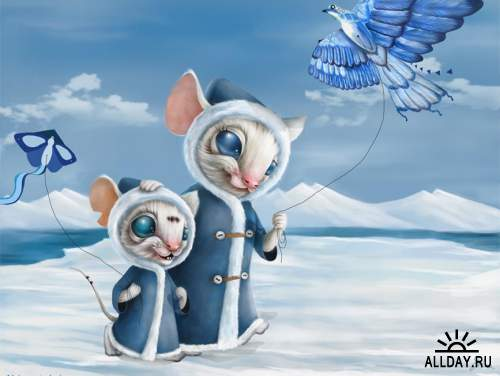 Cat and mouse   Кошки и мышки
