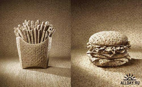 Рекламные работы от студии Staudinger+Franke