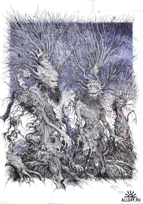 Ian Miller: The Surreal and Fantastic Art