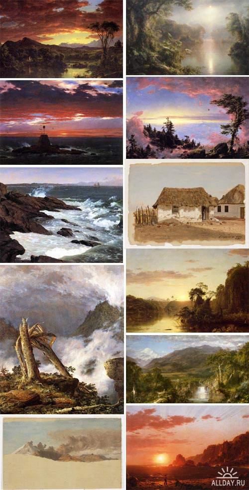 Artworks by Frederick Edwin Church