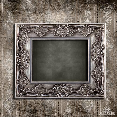 Grunge frame - UHQ Stock Photo   Гранжевые рамы