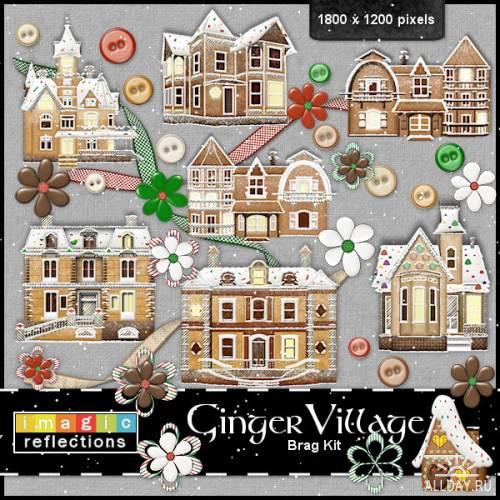 Скрап-набор - Ginger Village