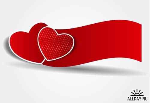 Вектор ко дню влюбленных #12 - Векторный клипарт