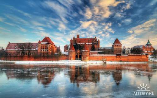 Качественные снимки со старинными замками разных уголков мира