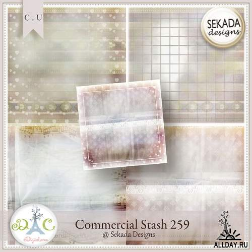 Scrap kit Sekada CU 258-263